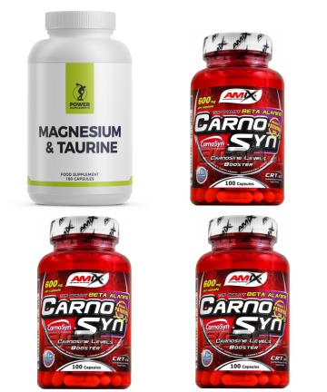 3 x Carnosyn 1 x Magnesium